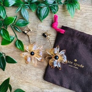 Kate Spade 'blooming brilliant' drop earrings